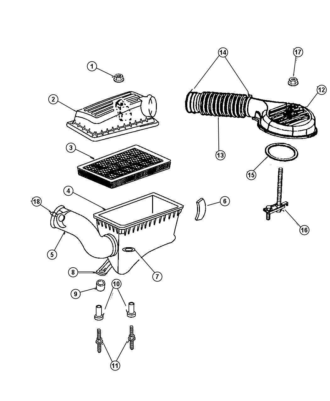Jeep Grand Cherokee Filter Air