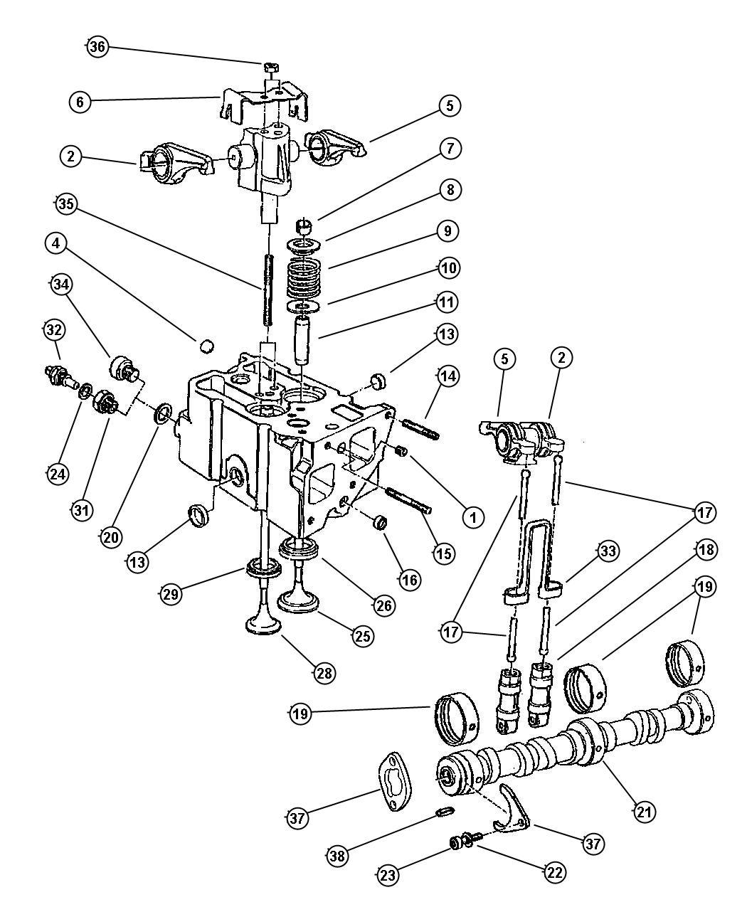 Chrysler Voyager Washer. Plain. [2.8l 4 cyl td next