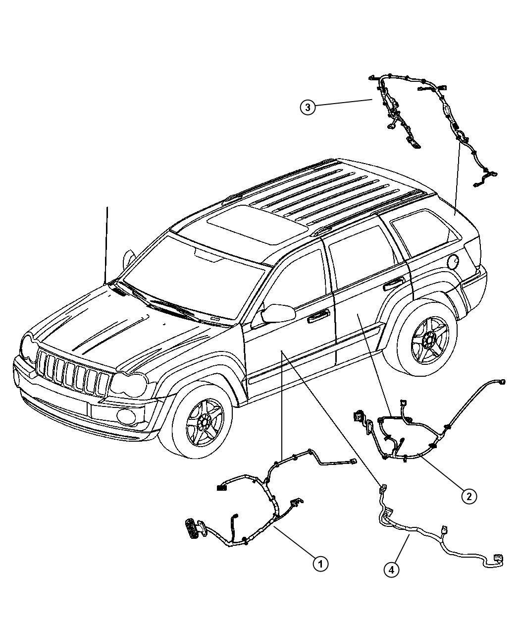 Jeep Grand Cherokee Infinity Wiring