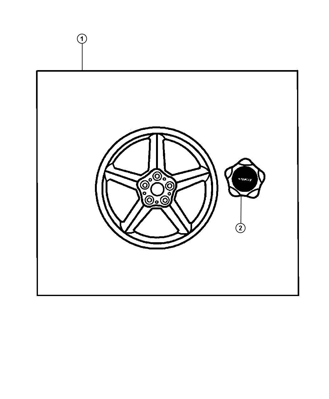 Dodge Stratus Wheel kit. Cast aluminum. Chromed, chromed