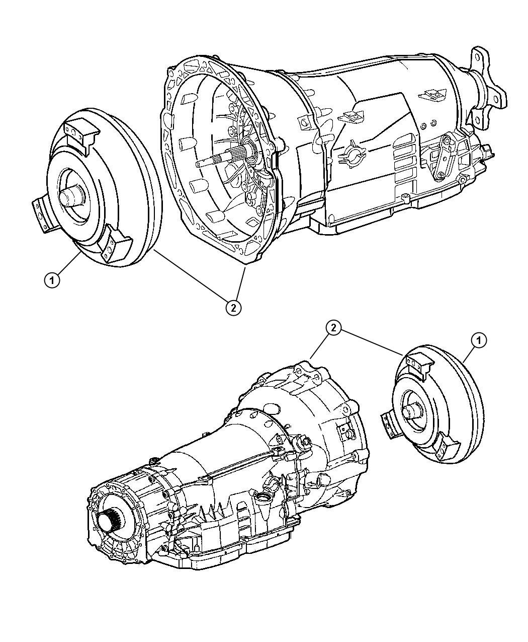 Jeep Grand Cherokee Transmission Kit With Torque