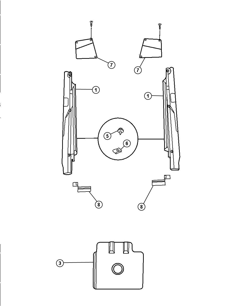Dodge Viper Shield Exhaust Manifold Inner Ewc Intake