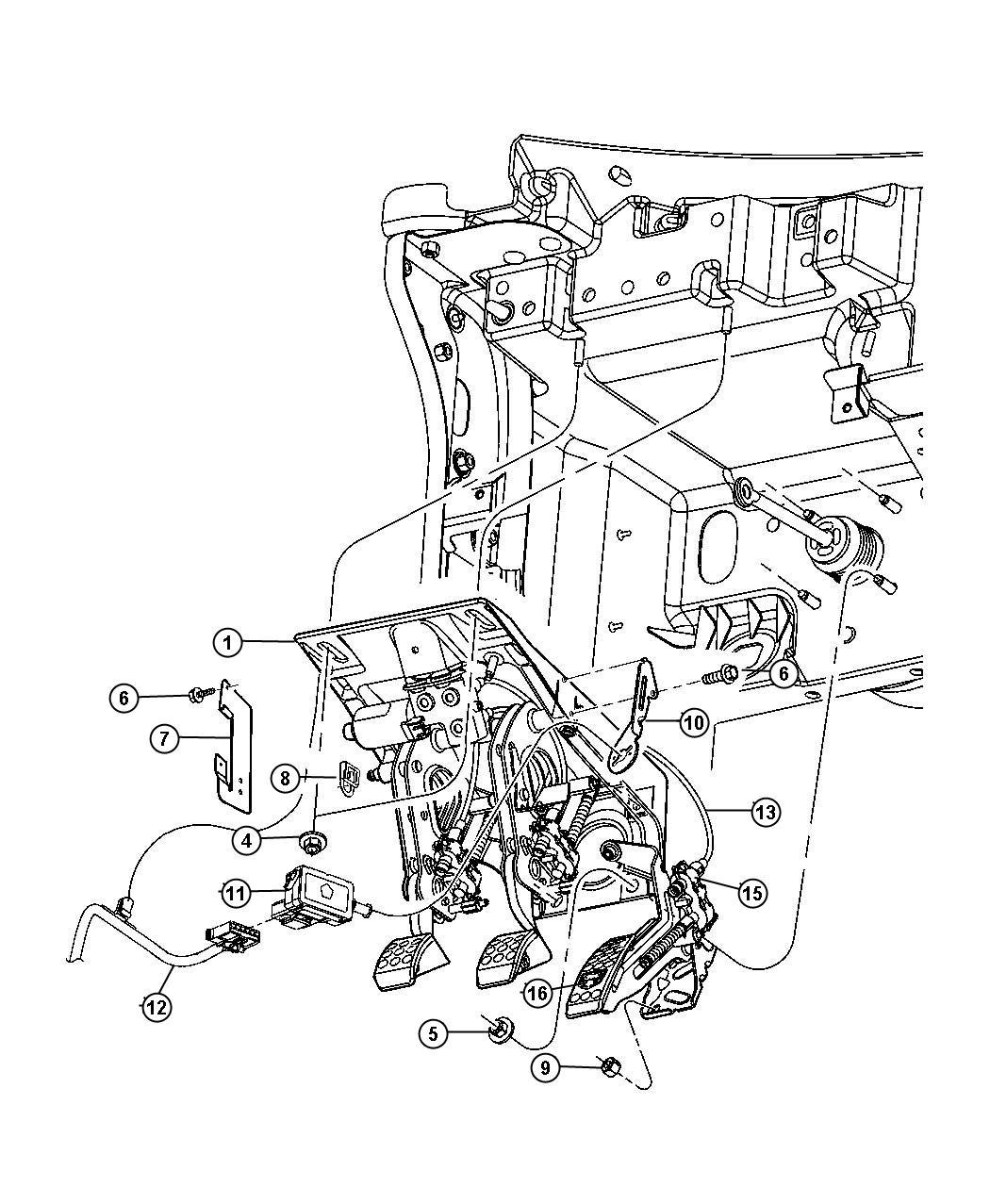 Dodge Viper Bracket Wiring Wiring Harness After 08 11