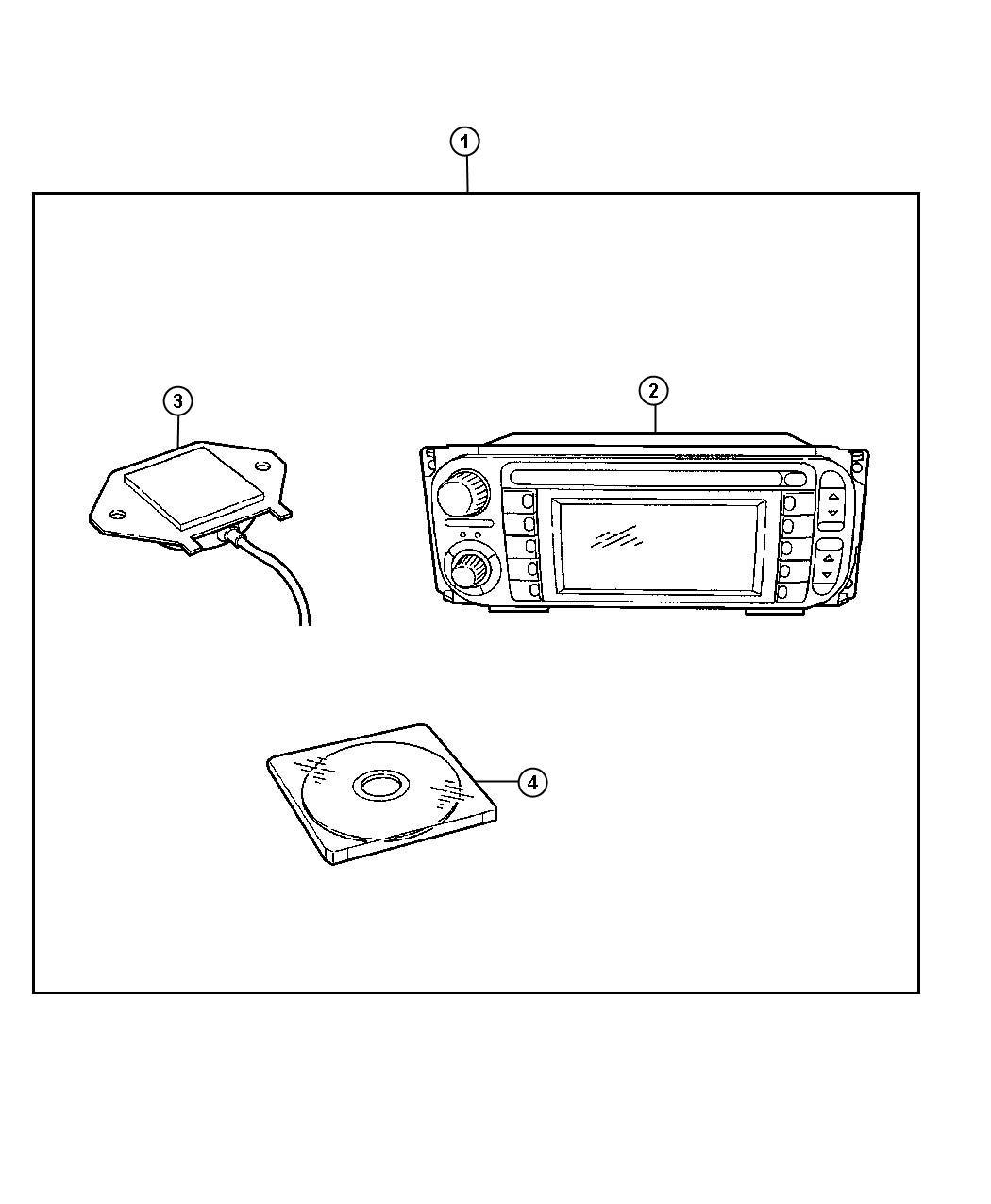 Dodge Ram Radio Used For Am Fm Cd W Nav Dvd And Cd