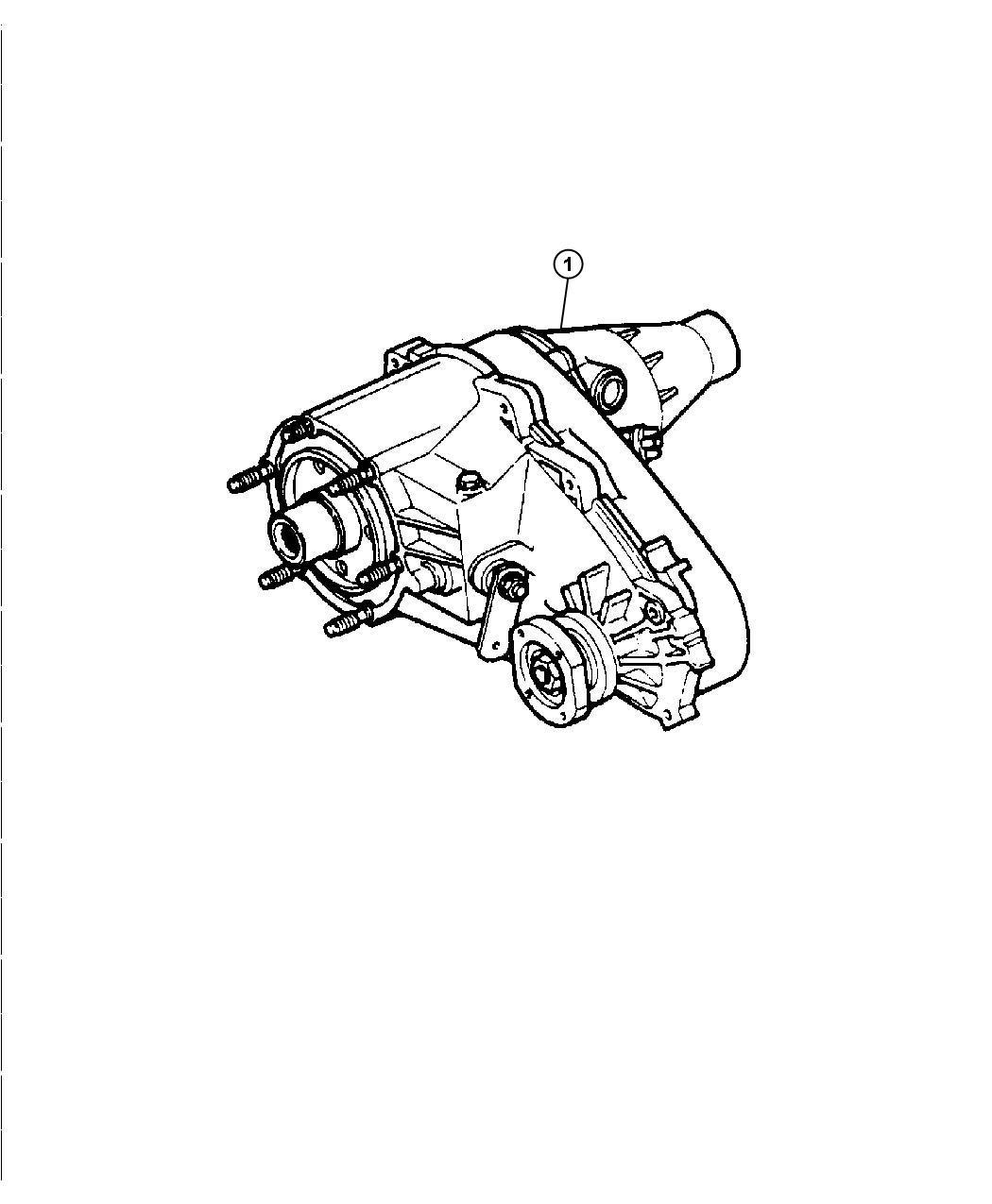 2005 Jeep Wrangler Transfer case. Remanufactured. Nvg 231