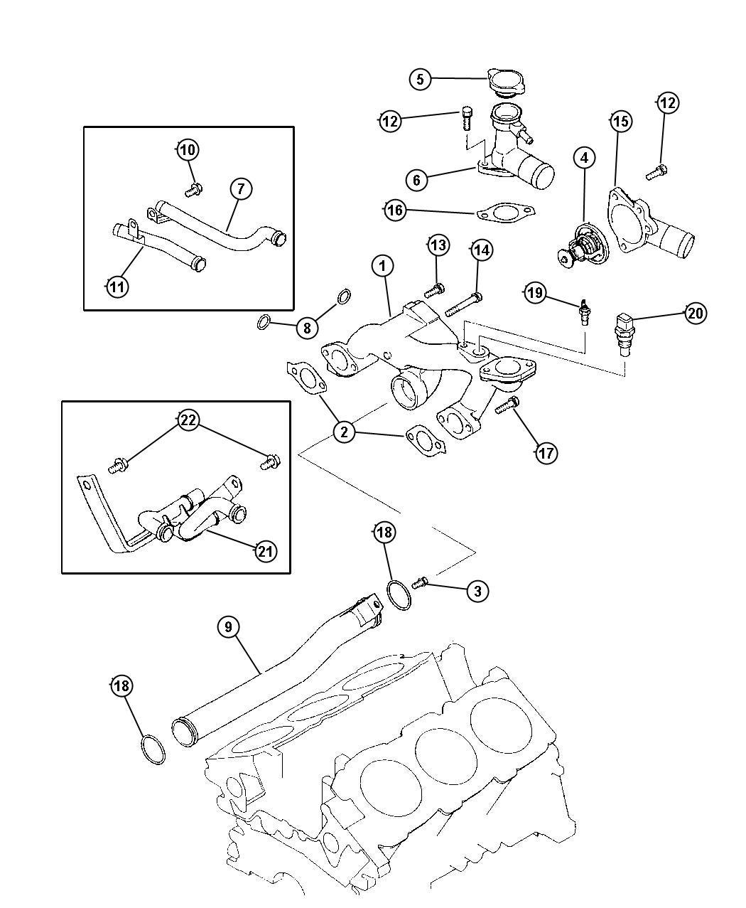 Dodge Stratus Thermostat Temperature Control