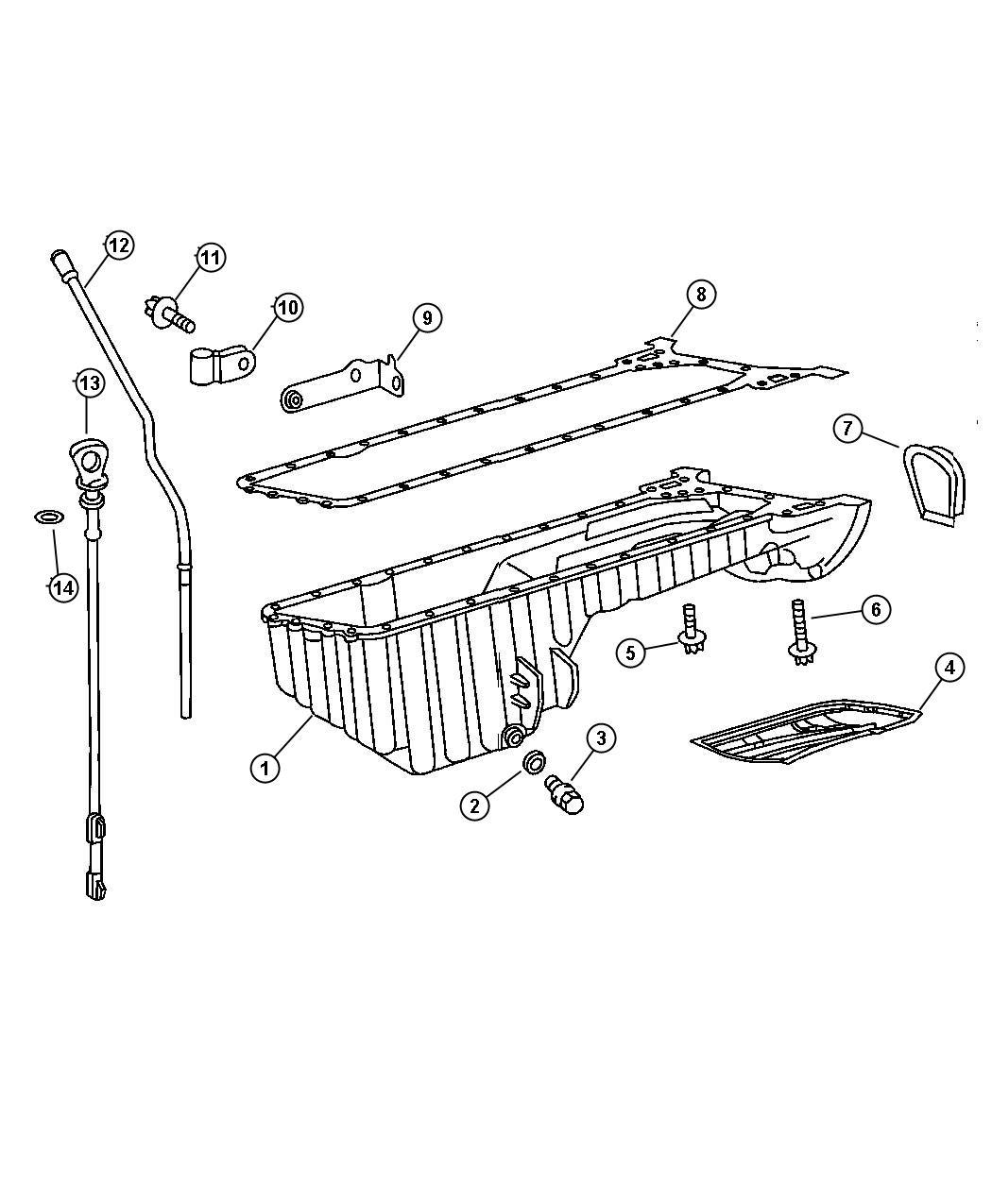Dodge Sprinter Bracket Oil Pan