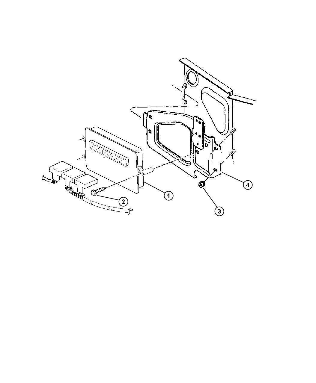 Dodge Dart Module Powertrain Control Generic