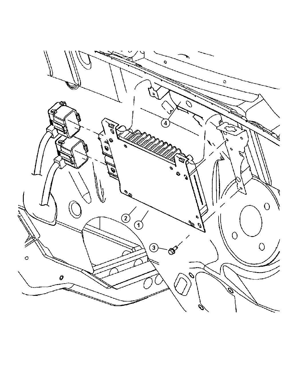 Jeep Patriot Module Powertrain Control Generic