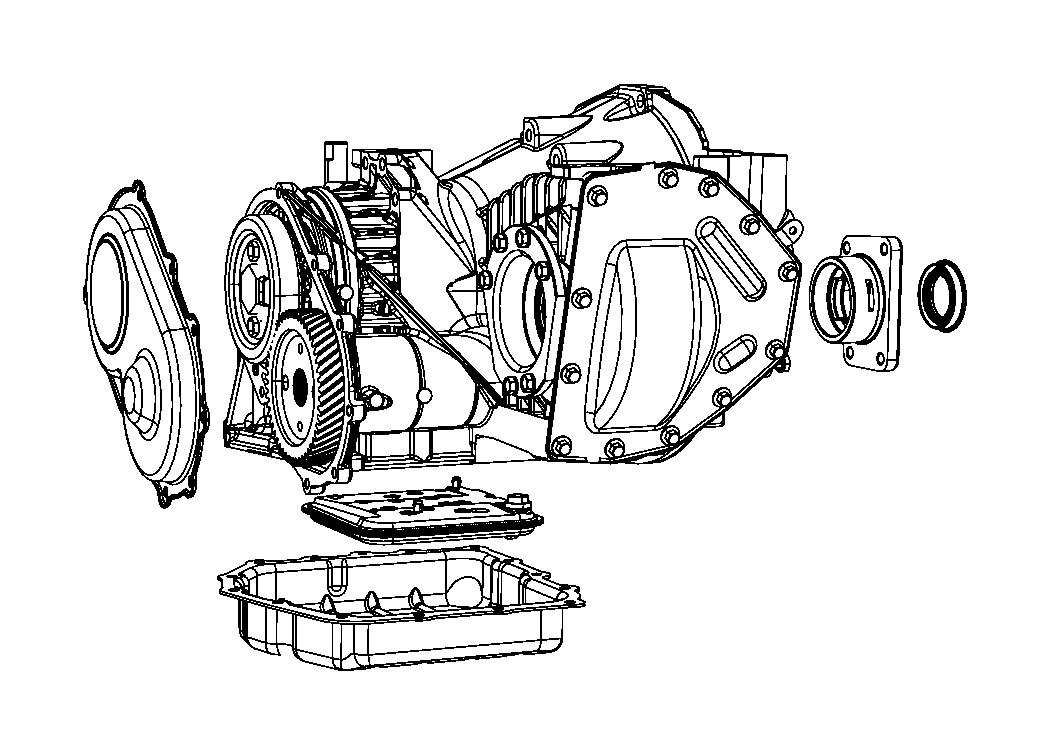 2010 Dodge Avenger Module. Remanufactured. Powertrain