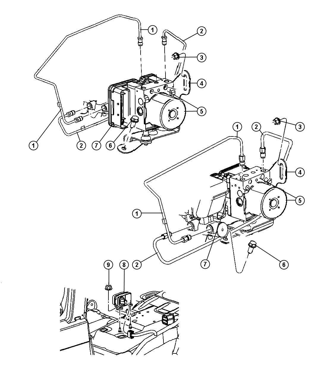 2009 Dodge Ram 3500 Screw. 6 lobe. M8x1.25x25.00. Mounting