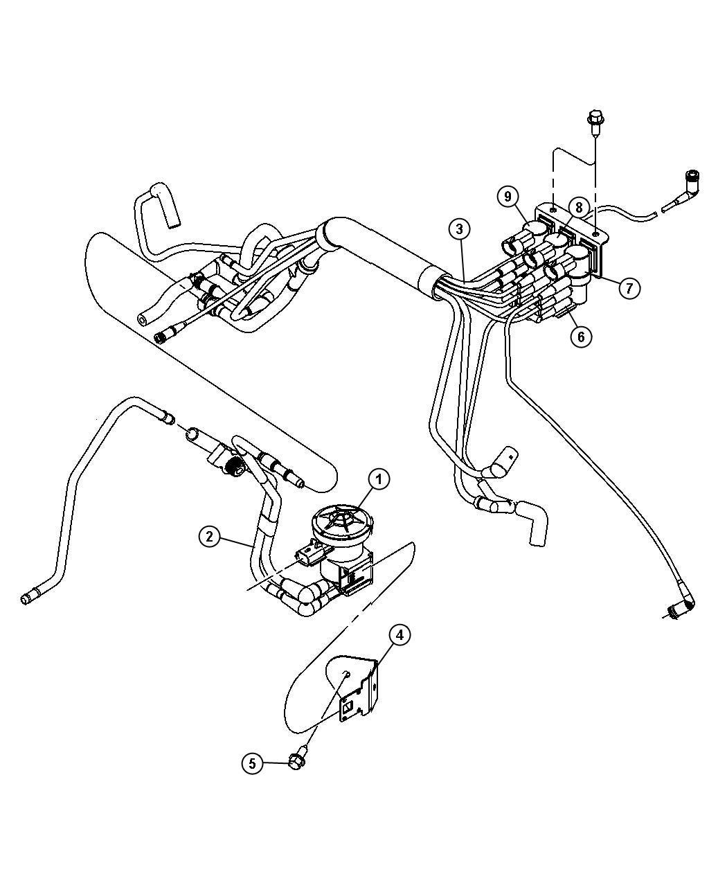 Dodge Stratus Solenoid. Proportional purge. Emission
