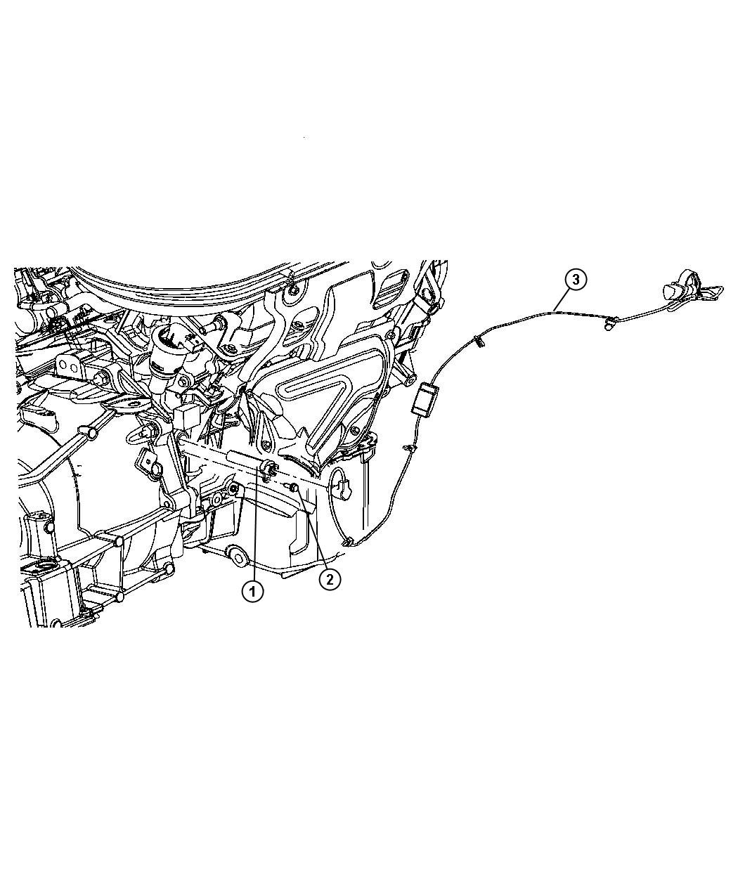 2006 Chrysler Pacifica Cord. Engine block heater. 3.5l