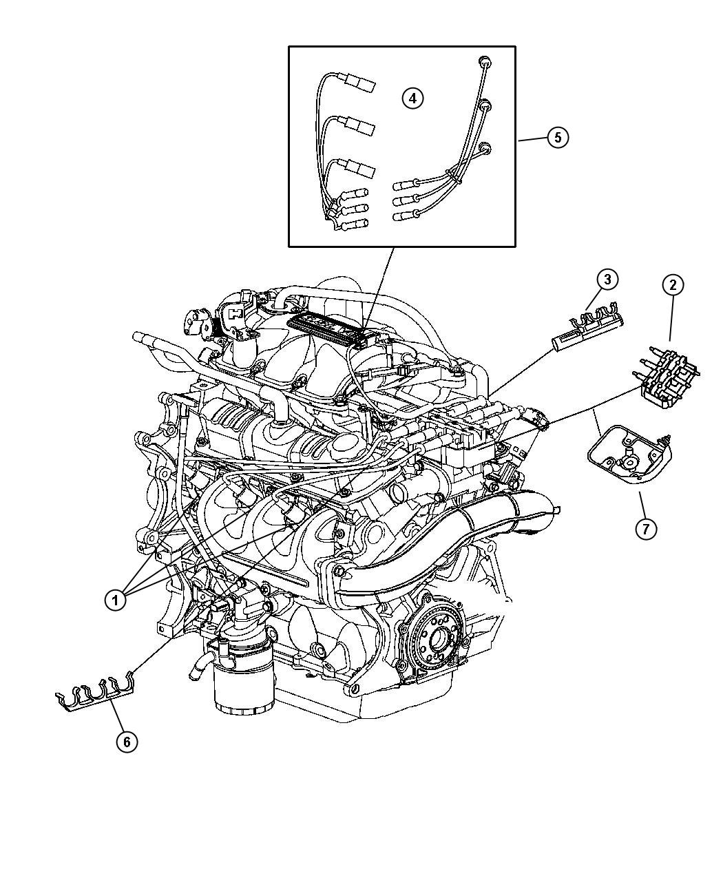 chrysler pacifica ignition wire diagram