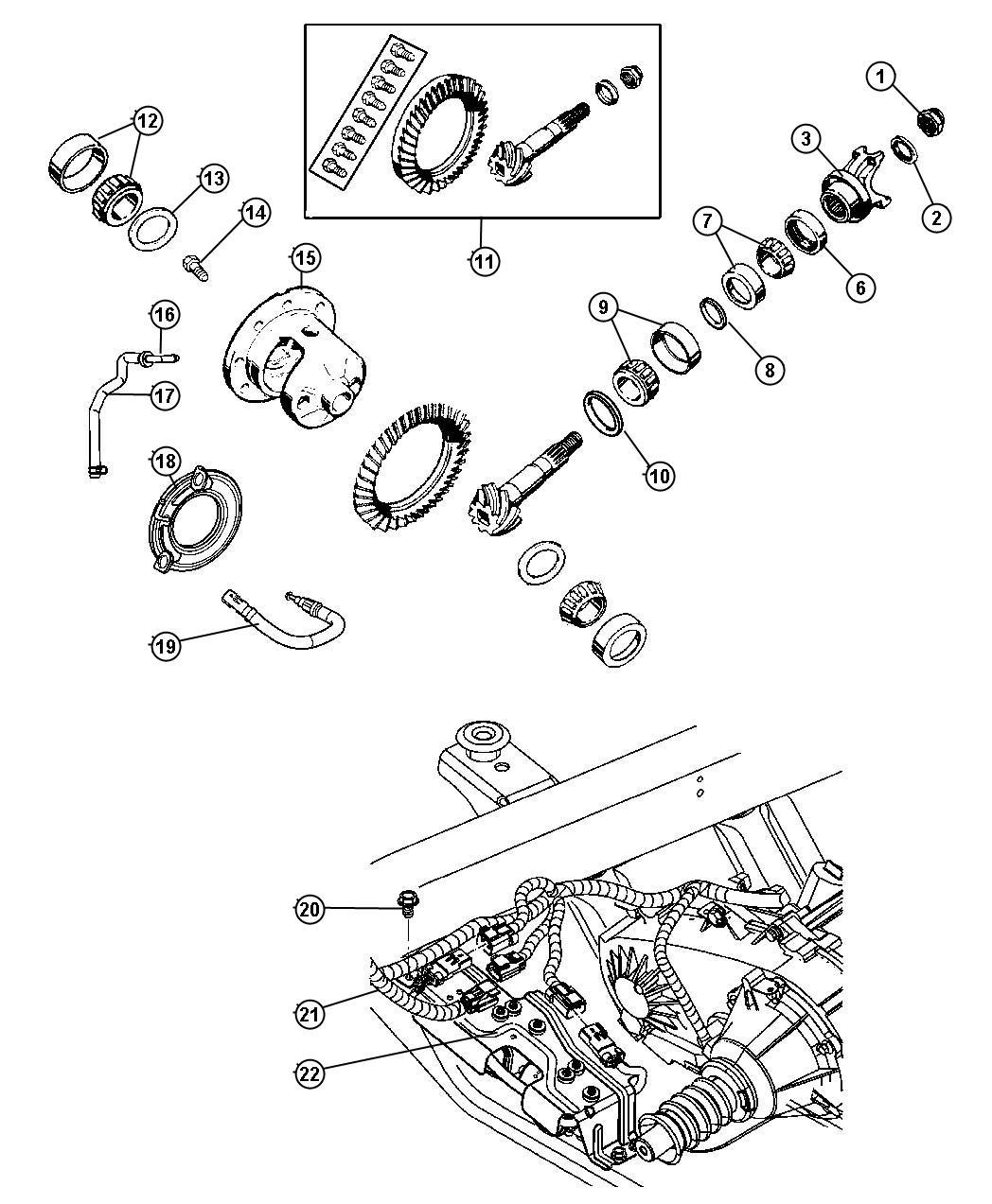 Jeep Wrangler Pump Axle Locker Front Or Rear Pump