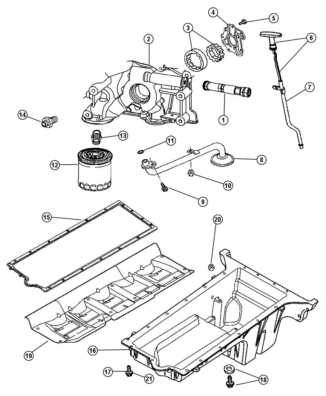 Dodge Viper Pickup Engine Oil Ewc Oiling