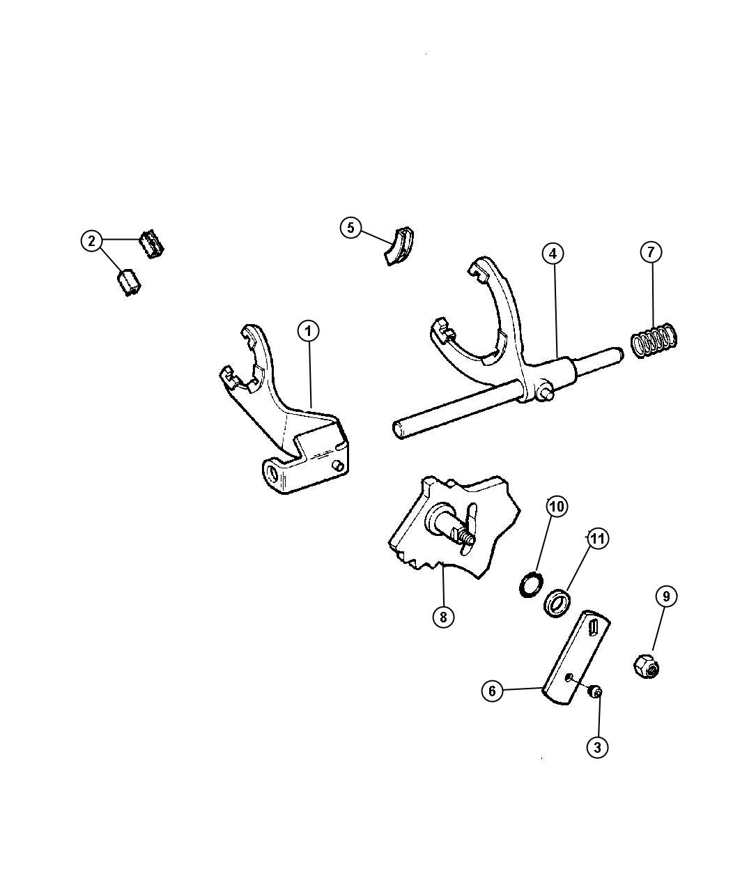 Jeep Wrangler Bushing Shift Lever Applicationpolice