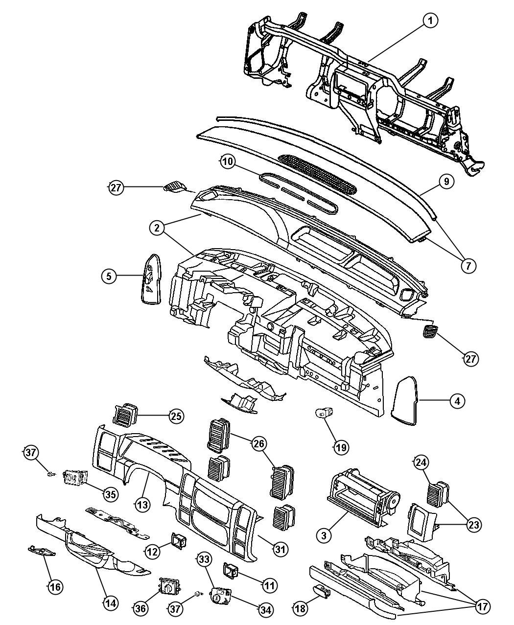 2013 Chrysler 300 Cover. Steering column. [d5]. Trim: [all