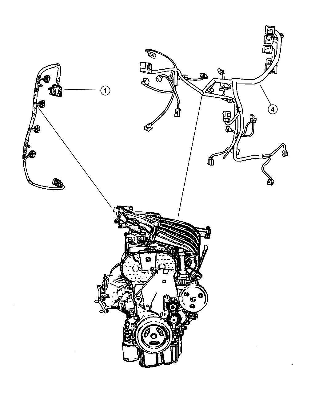 chrysler crossfire engine wiring diagram
