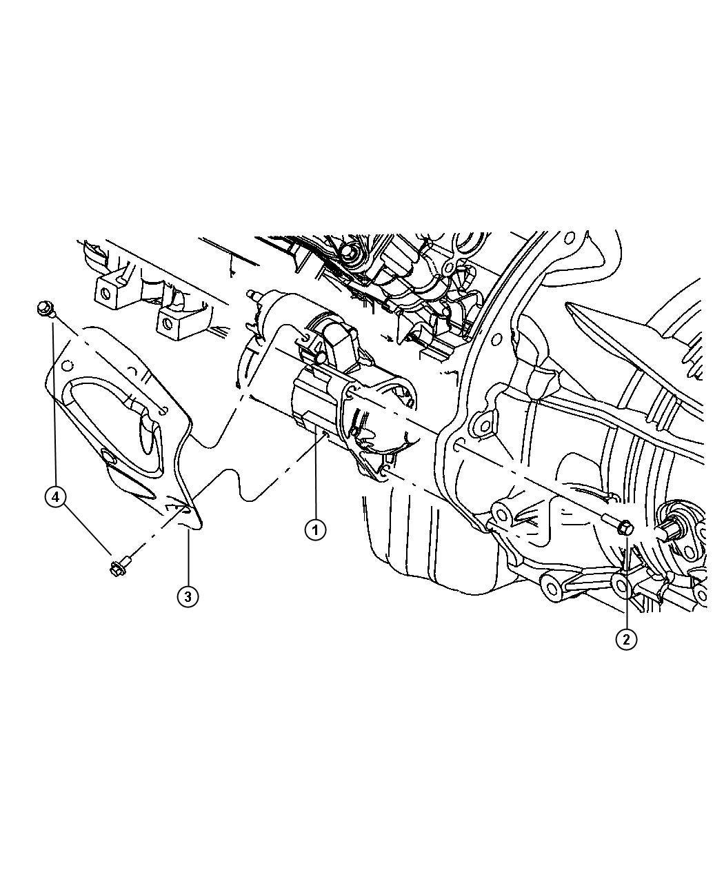 Jeep Commander Starter. Engine. Remanufactured