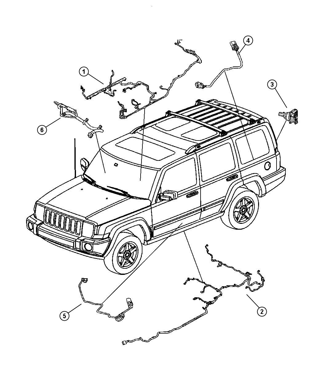 Jeep Commander Wiring Fuel Module Tank Skid
