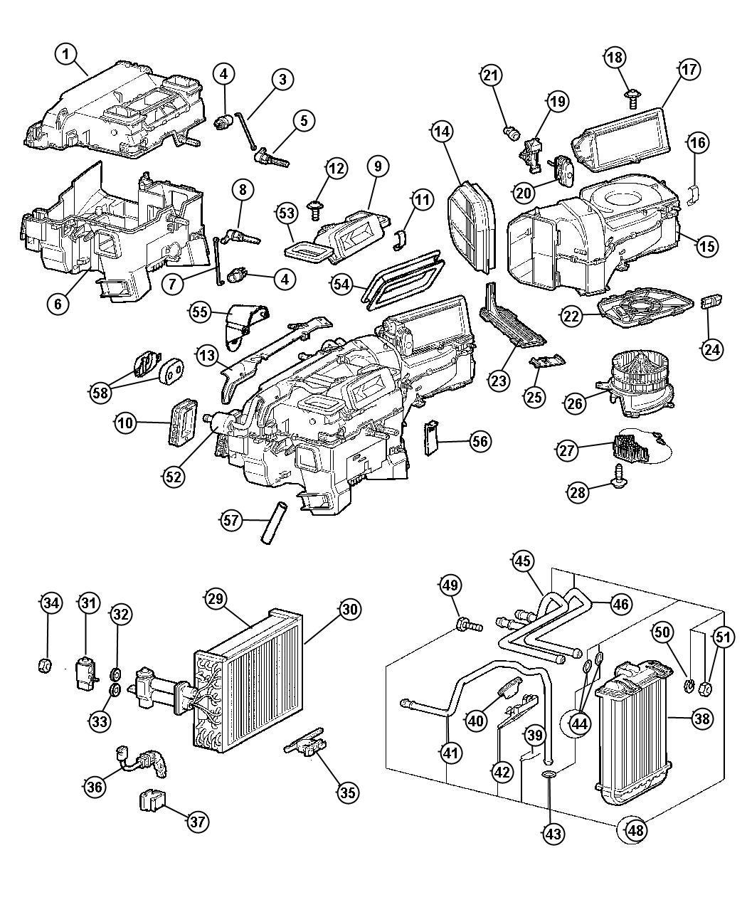 2006 Chrysler Crossfire Sensor. Temperature. Air