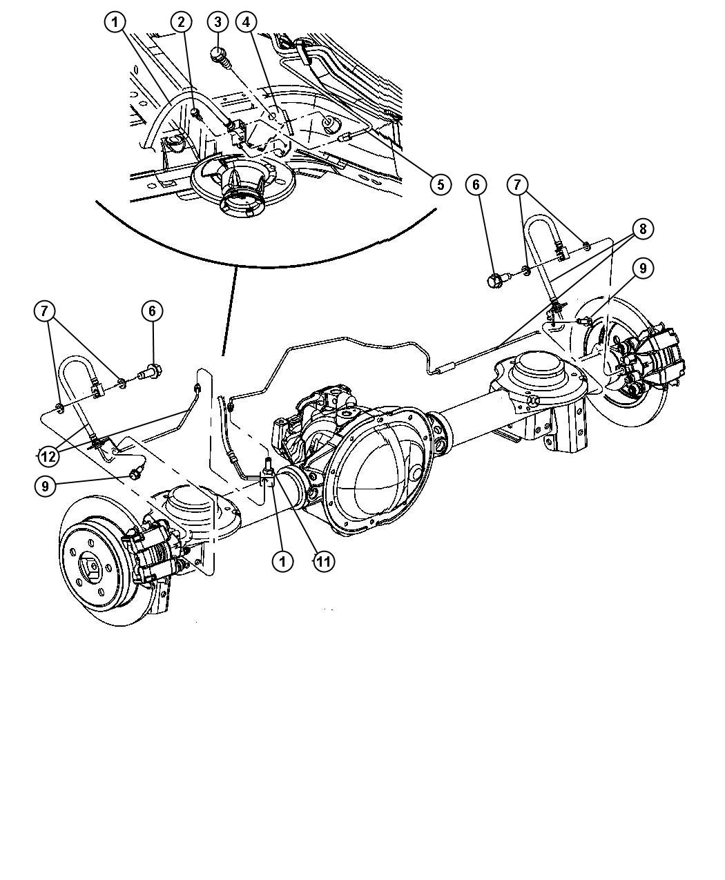 2006 Jeep Liberty Bundle. Used for: fuel and brake lines
