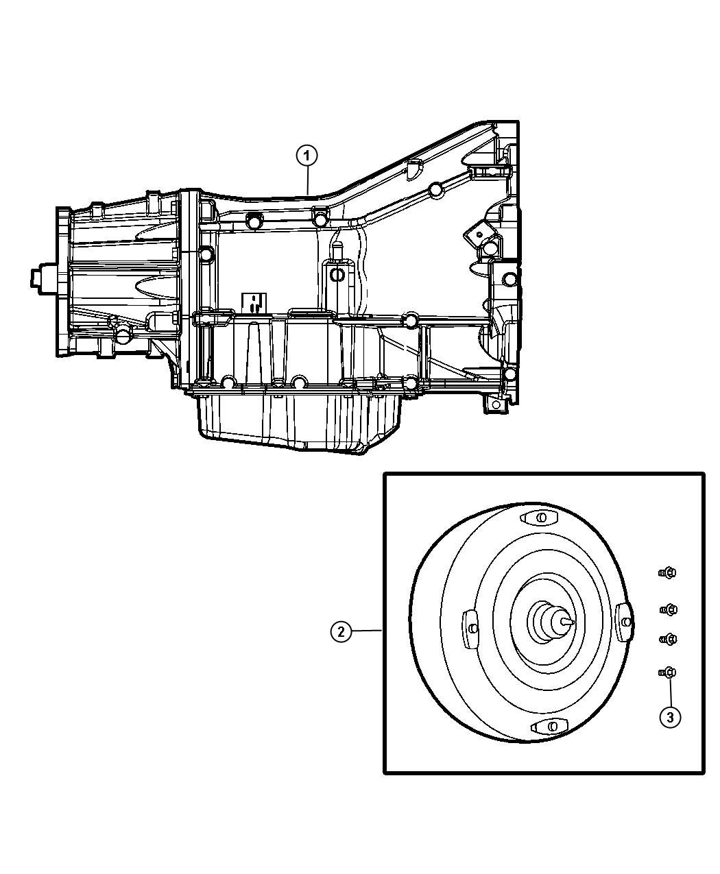 Chrysler Town Amp Country Trans Transmission Assembly