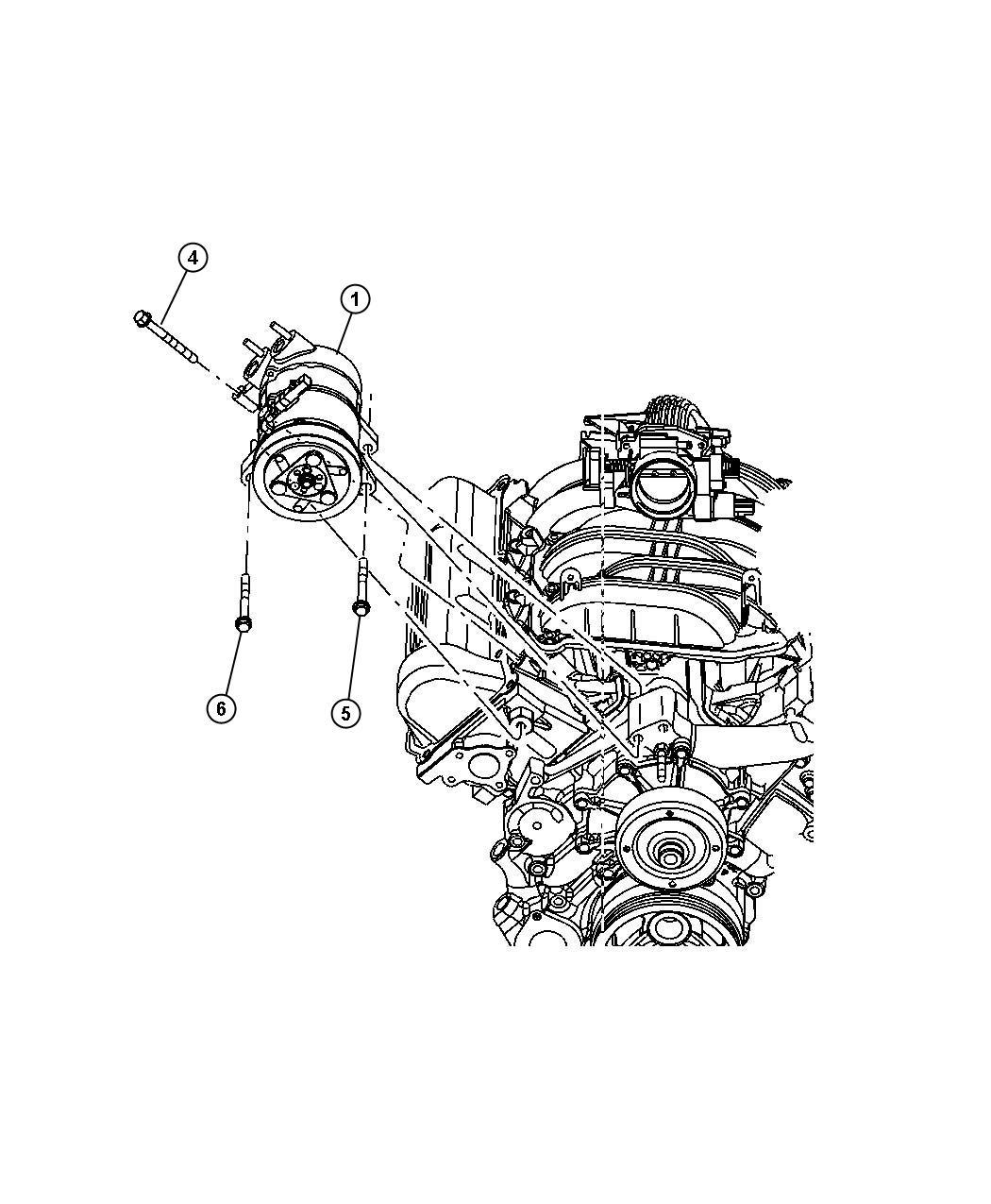 Dodge Nitro Coil Air Conditioning Clutch Compressor