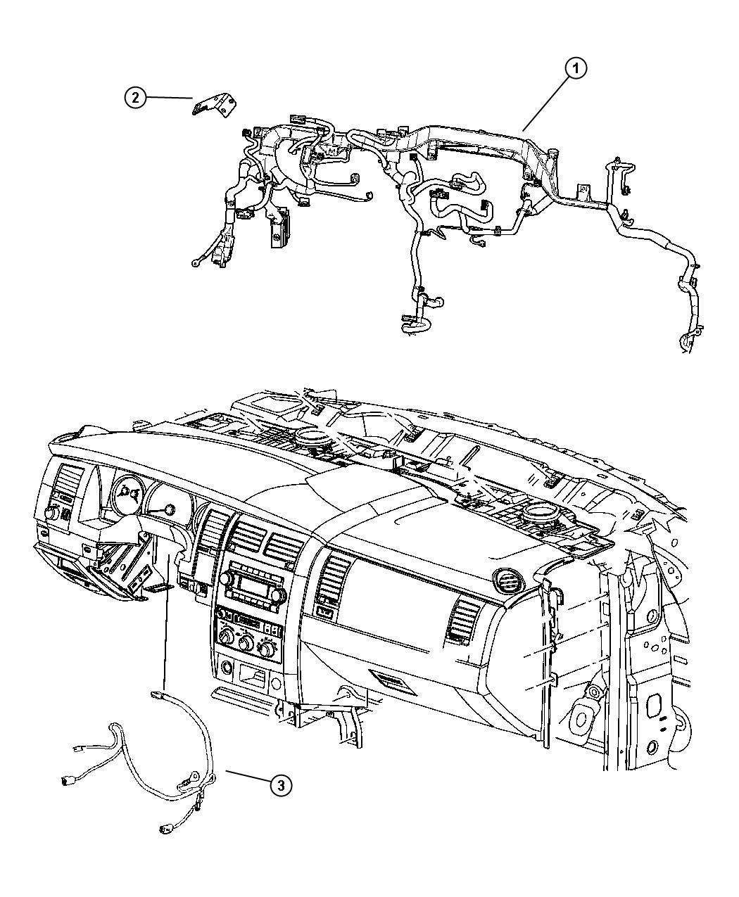 Dodge Durango Bracket Connector Electronically