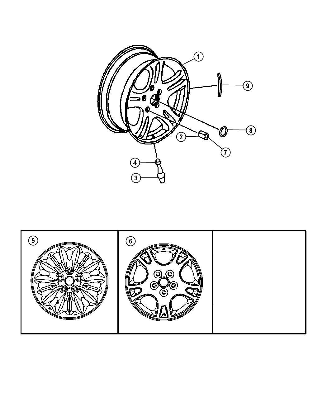 Dodge Ram Wheel Aluminum Chrome Wheels Tires