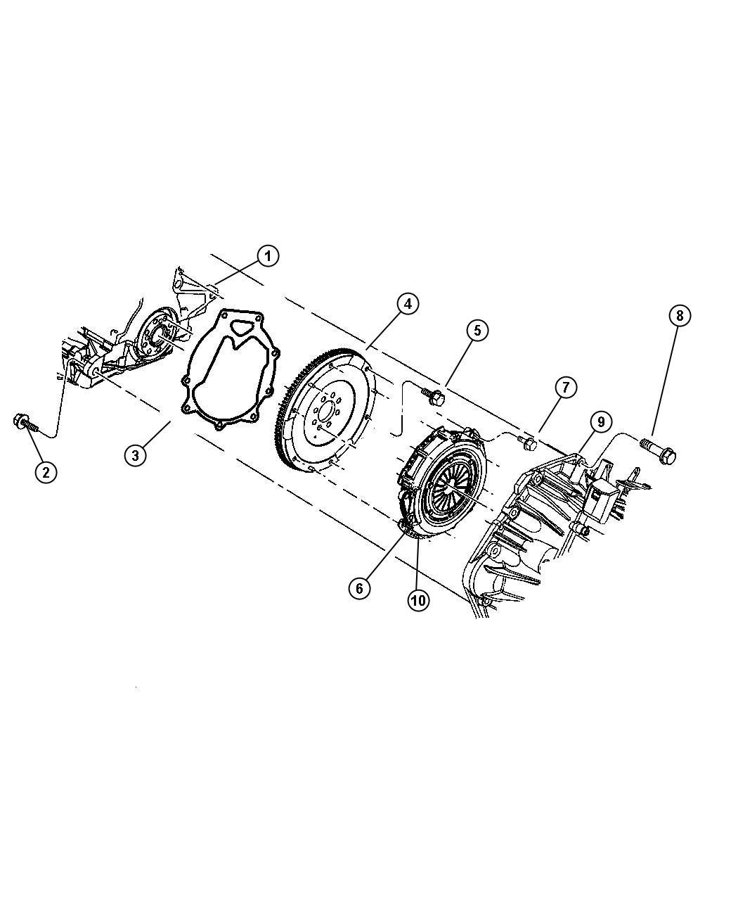 Jeep Patriot Clutch Clutch Kit Modular Pressure