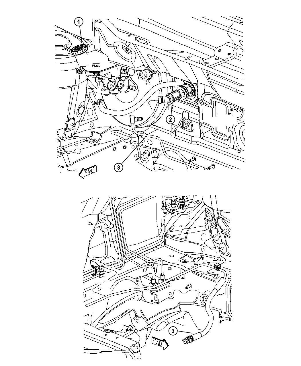 Dodge Caliber Plug. Body. Clutch actuator hole cover
