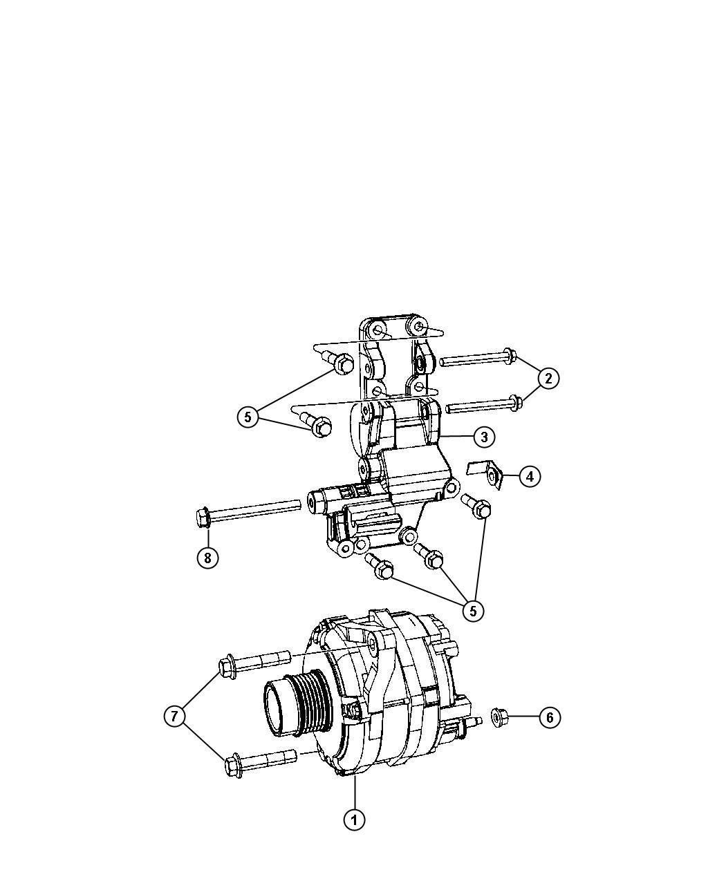Jeep Patriot Generator. Engine. Remanufactured. [140 amp