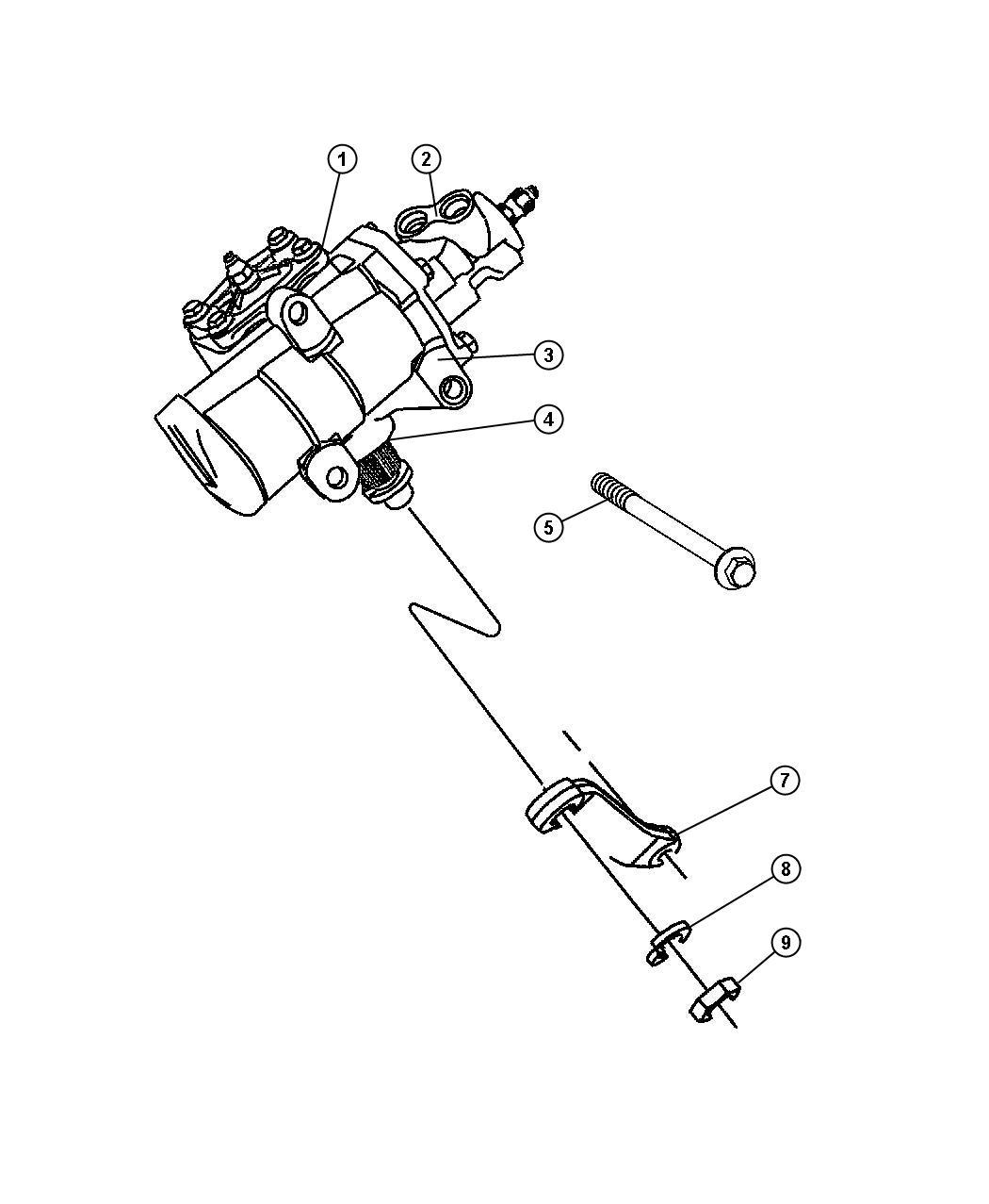 Dodge Caliber Screw Hex Flange Head M14x2 00x215 00
