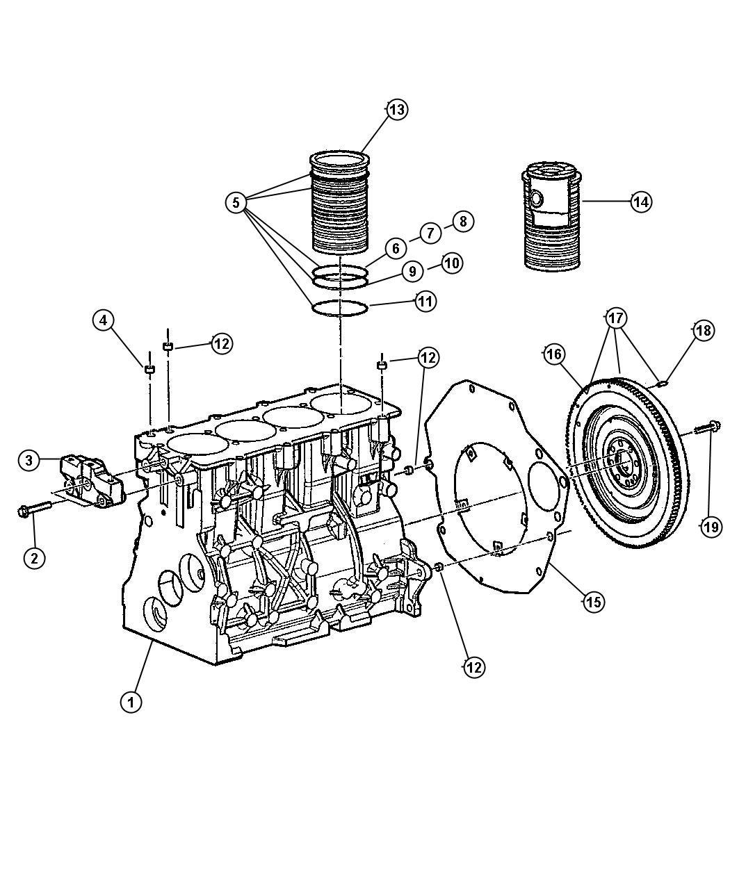Chrysler Pt Cruiser Flywheel Enginesel Turbo