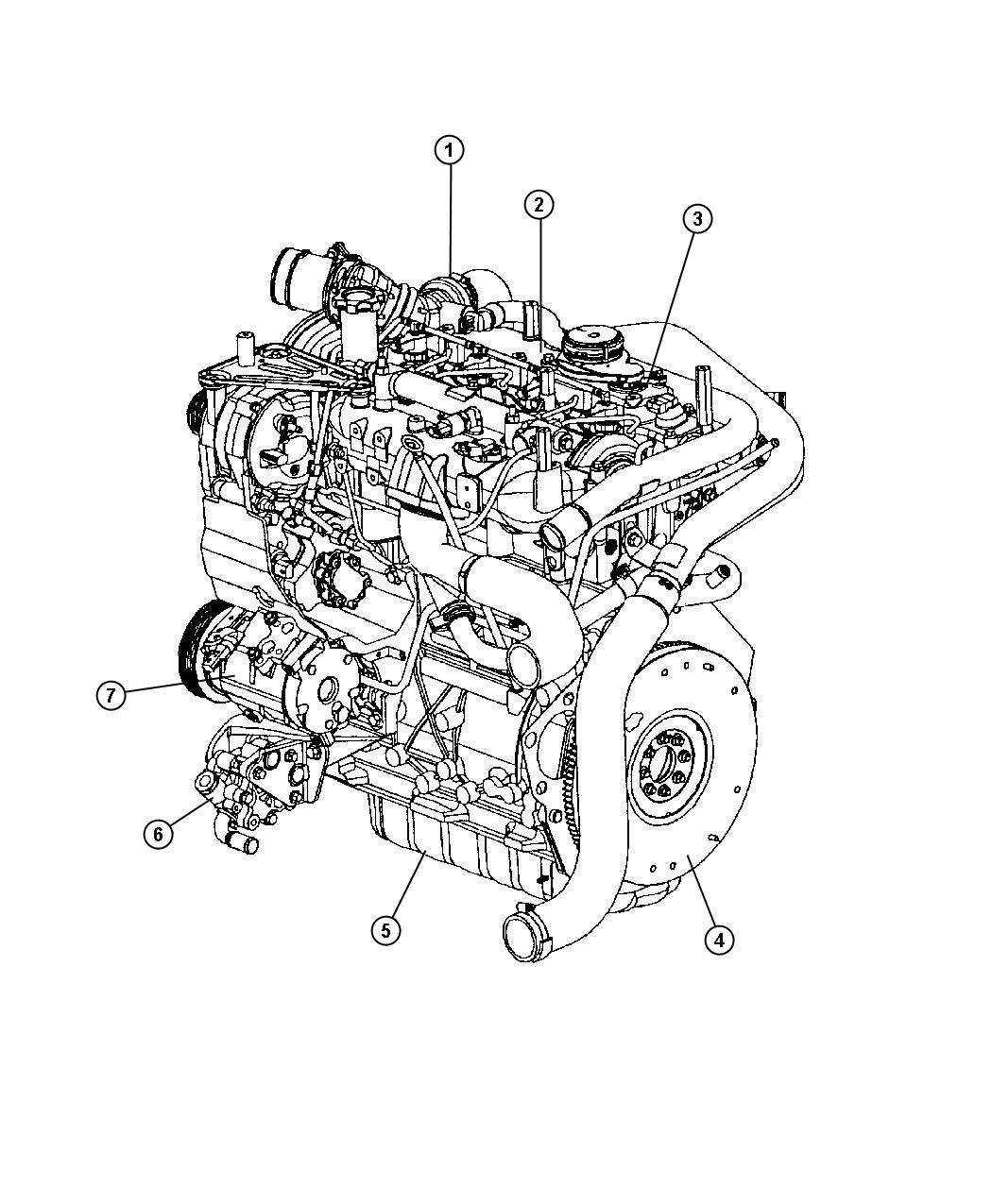 Chrysler PT Cruiser Flywheel. Engine, diesel, turbo