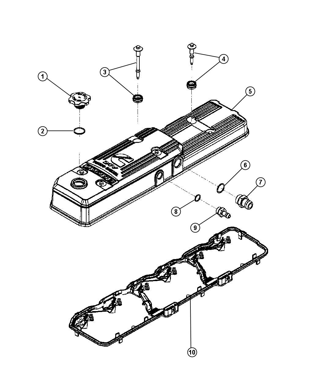 Dodge Ram O Ring California Emissionssel