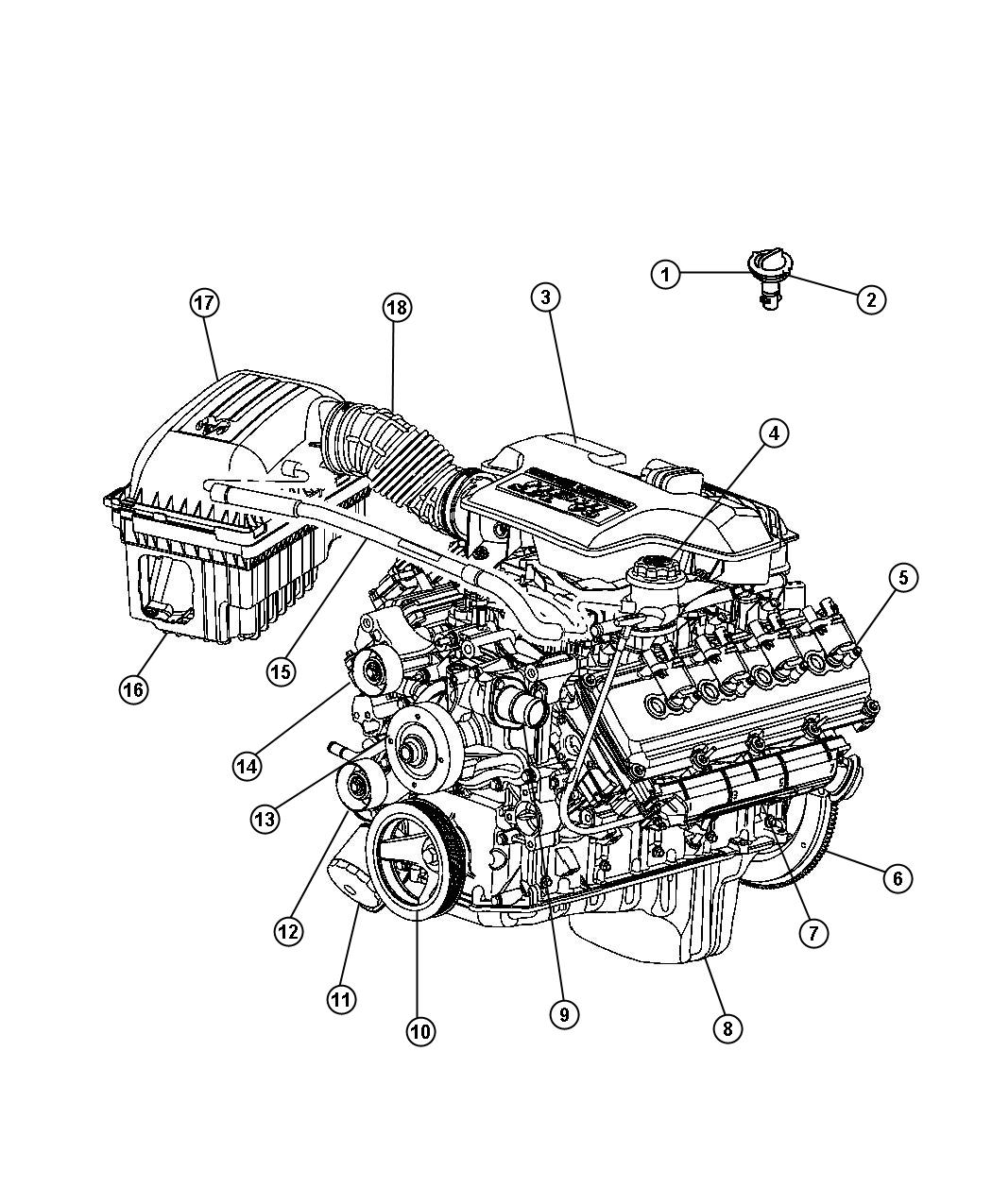 2011 Chrysler Sebring Pulley. Idler. Engine, alternator