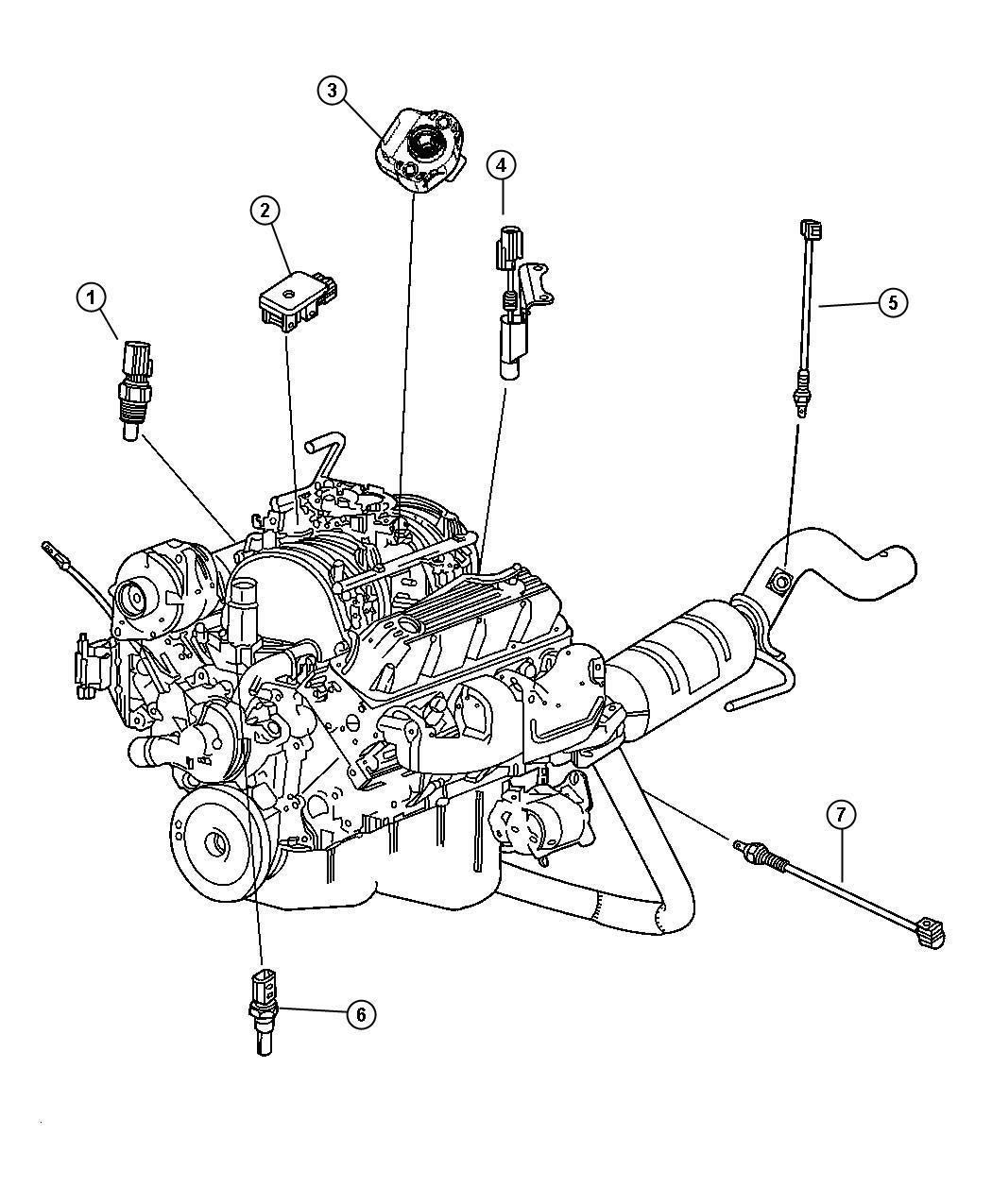 2013 Chrysler 300 Sensor. Coolant temperature. Torque