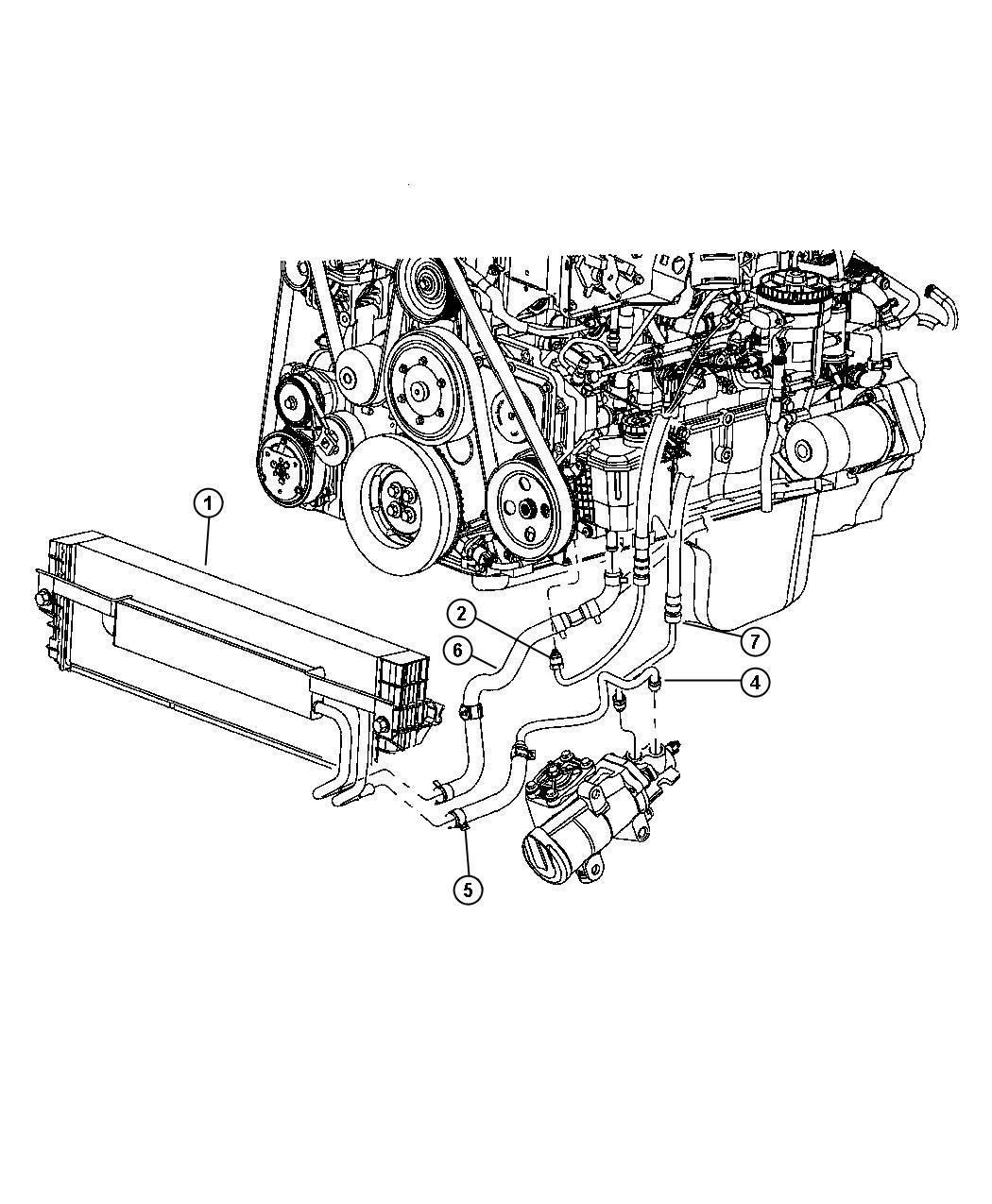 Dodge Ram Cooler Power Steering