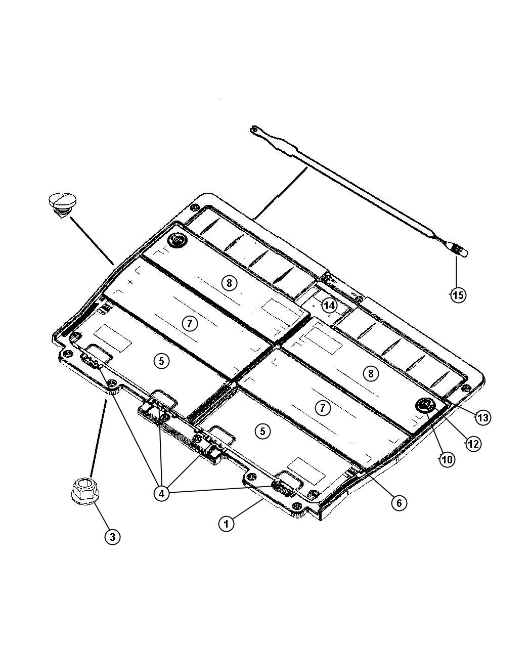 Dodge Caravan Door Load Floor J1 J3 Trim