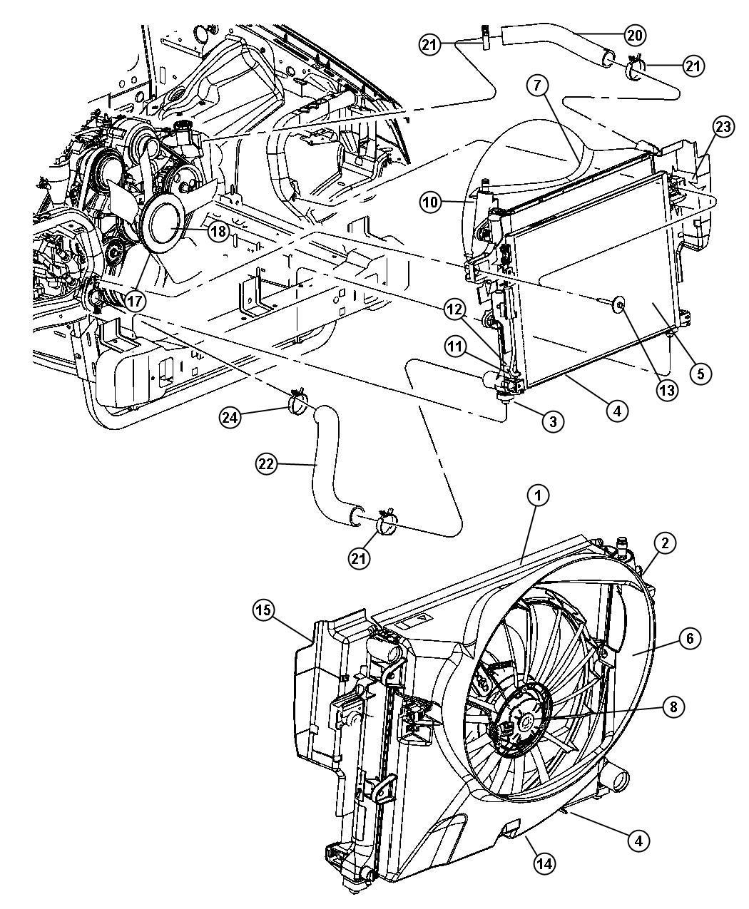 Jeep Commander Label A C Spec Belt Routing
