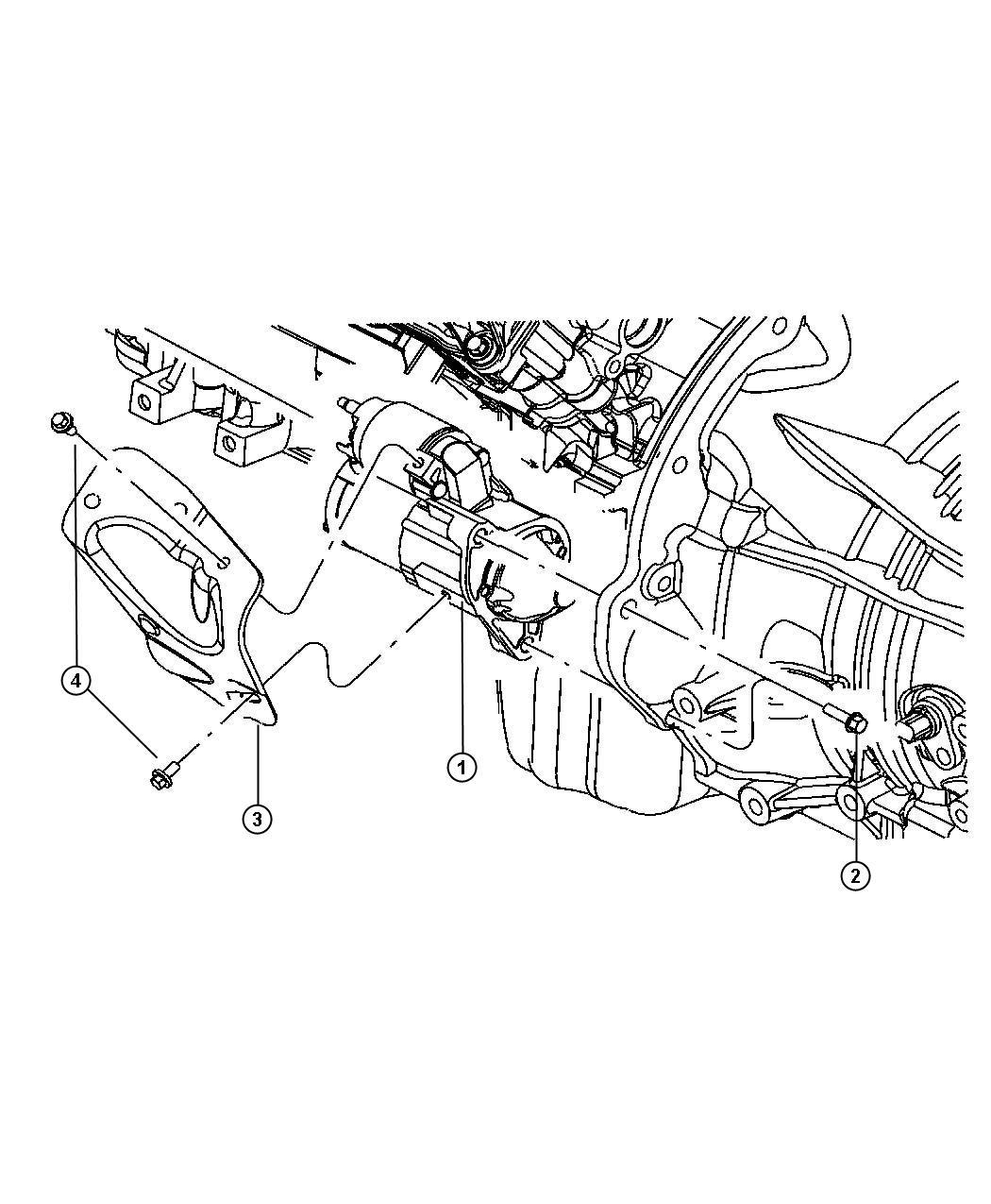 2007 Jeep Commander Starter. Engine. Remanufactured
