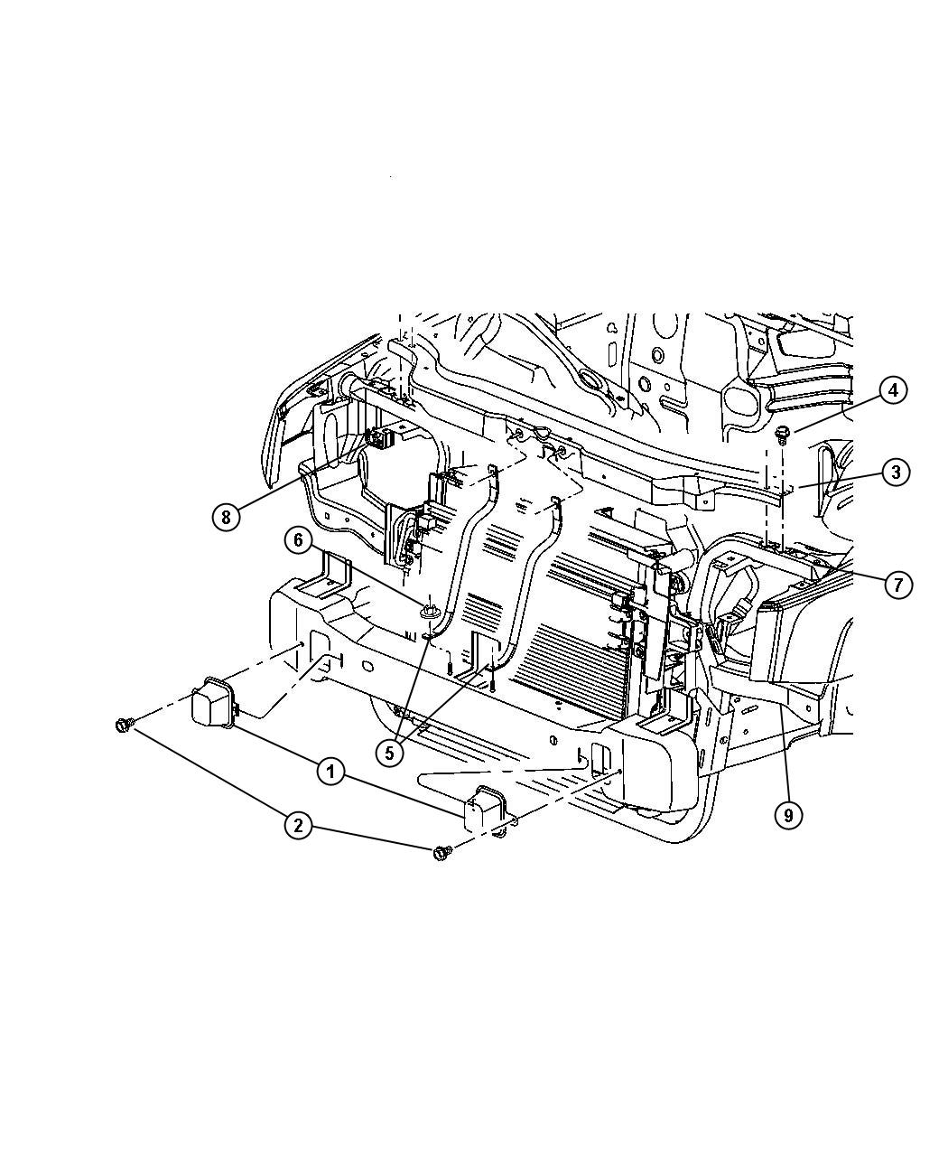 2006 Jeep Commander Oem Parts Diagram. Jeep. Auto Wiring