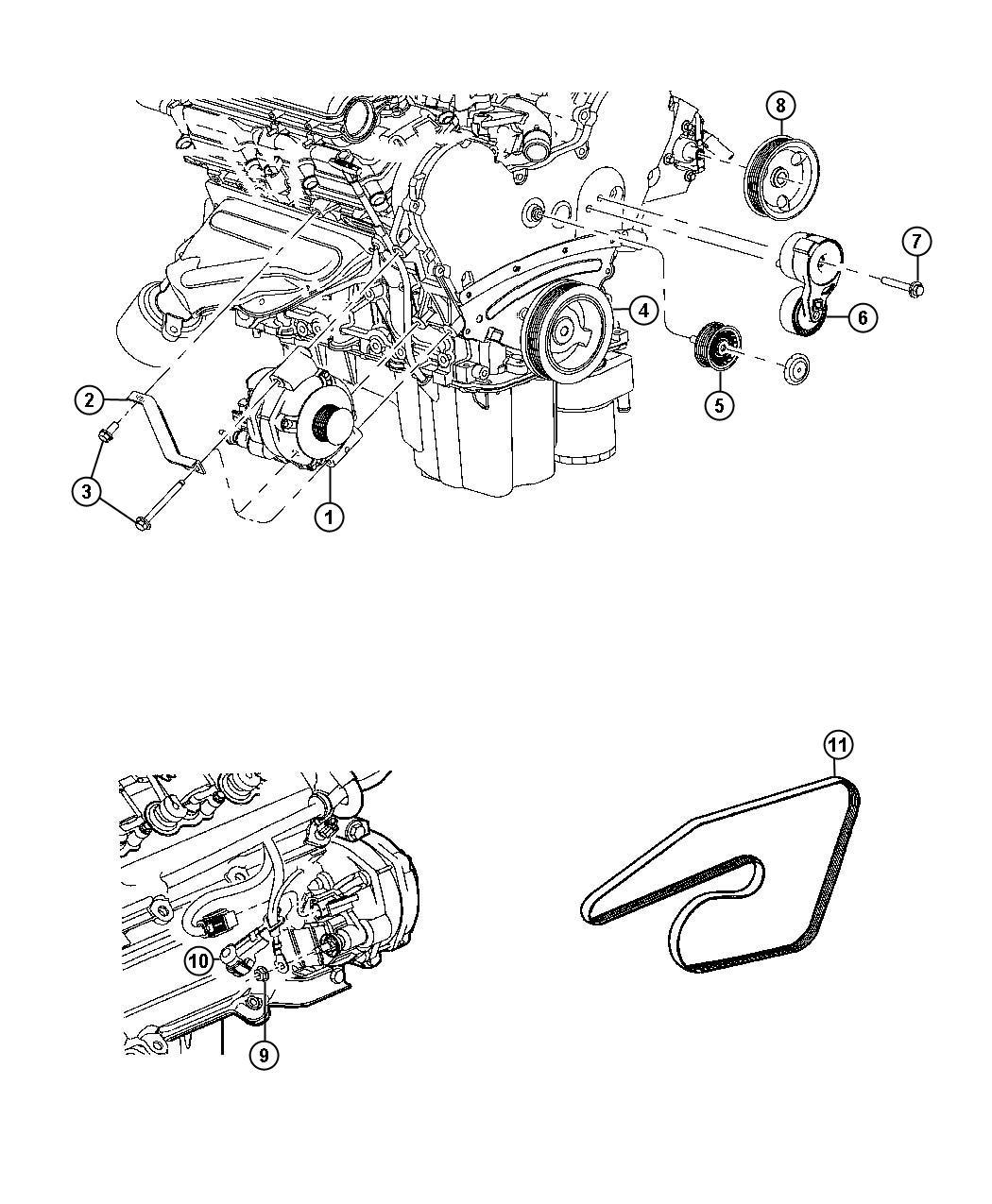 Dodge Charger Generator. Engine. Remanufactured. [160 amp