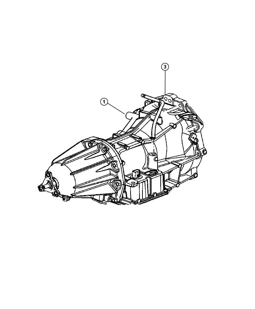 Chrysler 300 Transmission kit, transmission package. With