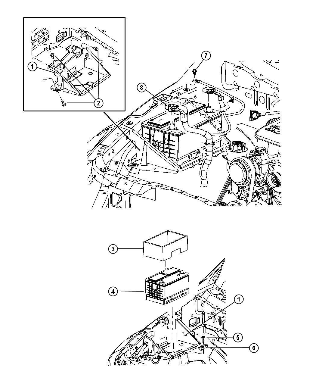 Dodge Durango Wiring Battery