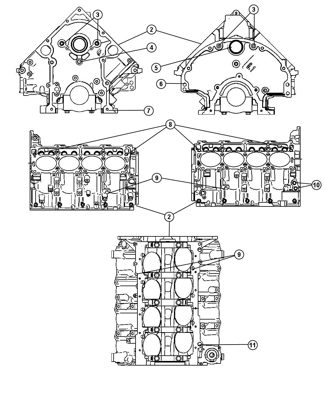 Jeep Commander Engine Short Block Remanufactured Orginal Experiencd Premanufactured