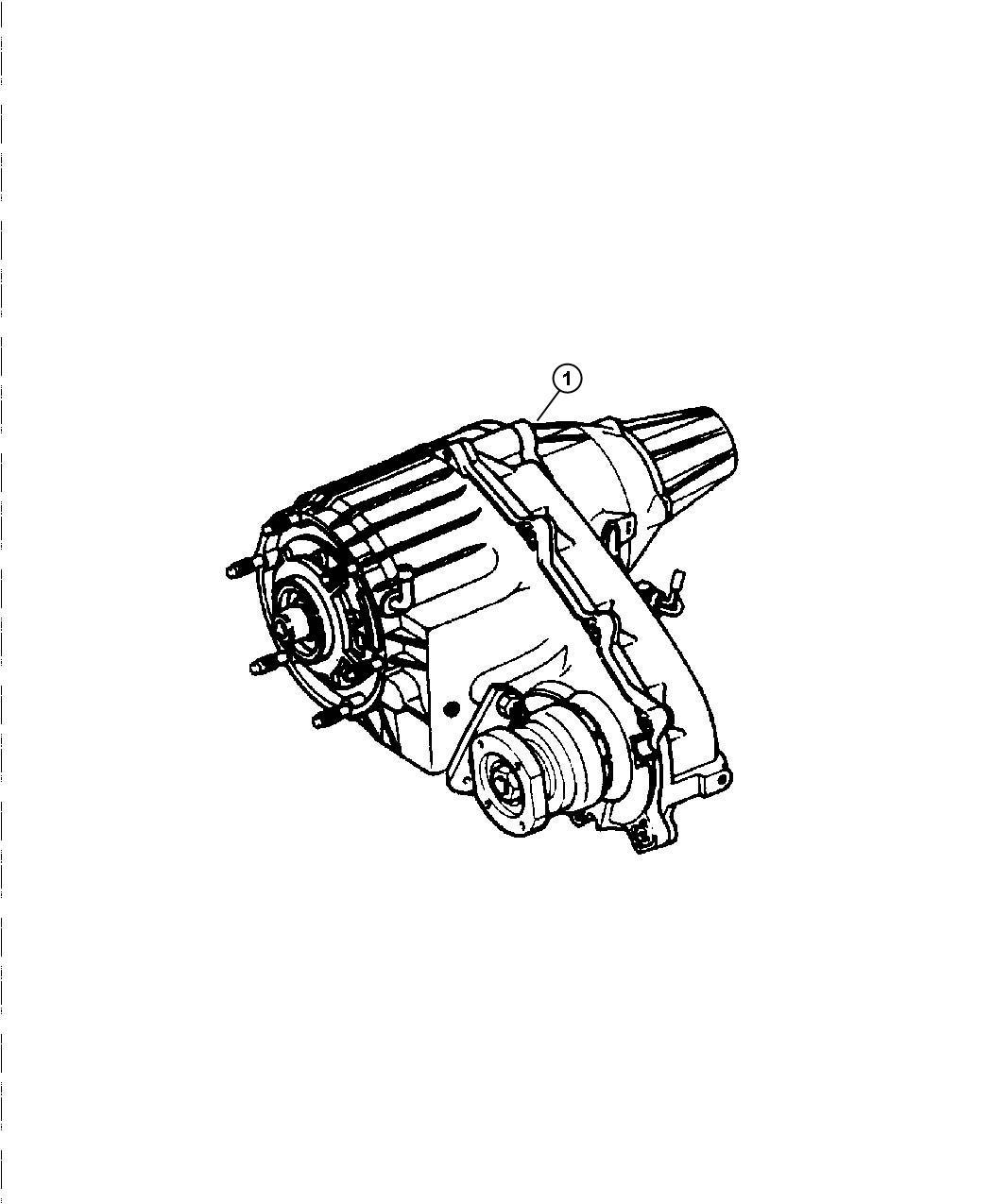 Chrysler Aspen Transfer case. Remanufactured. Time, fly